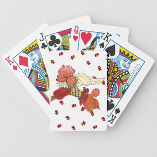 Apricot Poodle Playing Cards