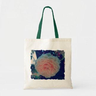 Apricot Rose Tote Bag
