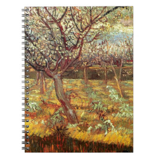 Apricot Trees in Blossom by Van Gogh Notebook