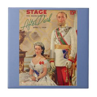 April 1939 Stage Magazine cover Ceramic Tiles