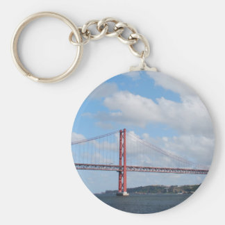 April 25th Bridge Keychain