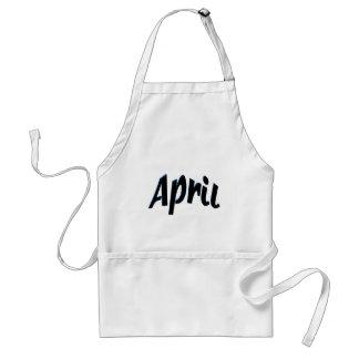 April Aprons