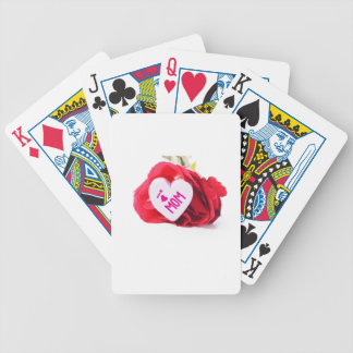 April Bicycle Playing Cards