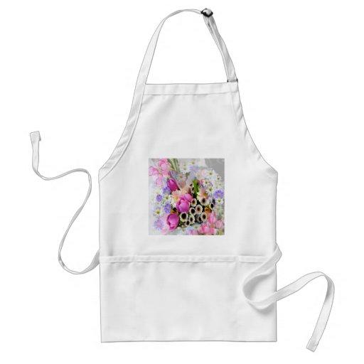 April Bouquet Aprons