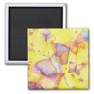 April Butterflies Magnet