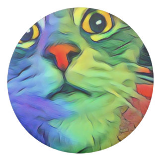 April Cat Eraser