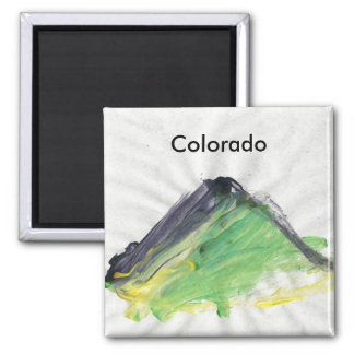 April Colorado magnet by MAXarT