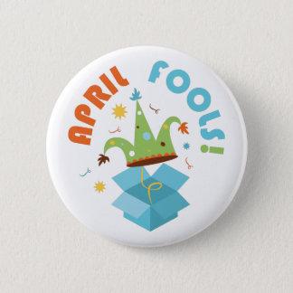 April Fools 2 Inch Round Button