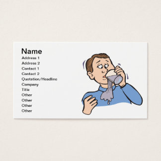 April Fools Day Business Card