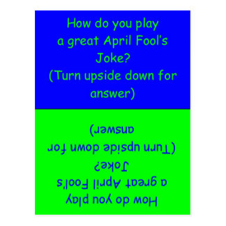 April Fool's Day Humorous Card
