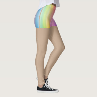 April Fools Day Leggings Rainbow Bottoms