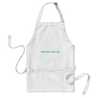 April fools standard apron