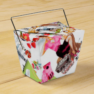 April in Paris Favor Box