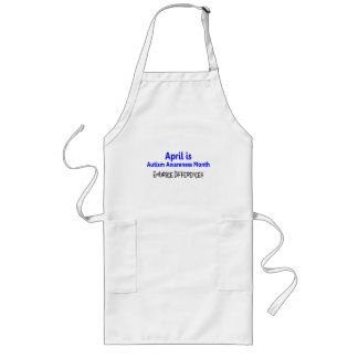 April Is Autism Awareness Month Embrace Difference Long Apron