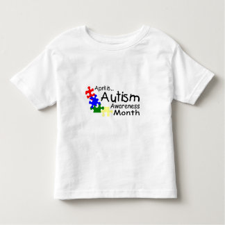 April Is Autism Awareness Month (PP) Toddler T-shirt