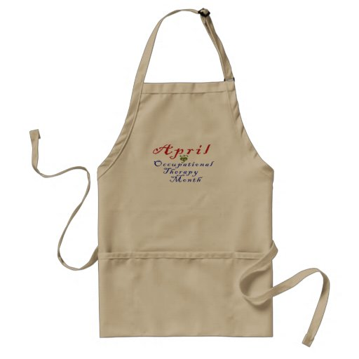 April is Occupational Therapy Month Apron