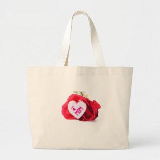 April Large Tote Bag