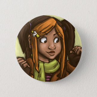 April muse 2 inch round button