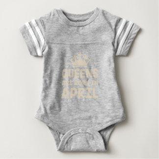 April Queen Baby Bodysuit