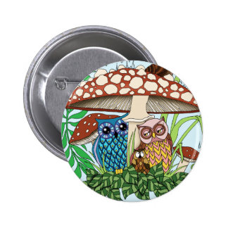 April Showers 2 Inch Round Button