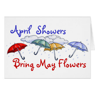 April Showers - Card