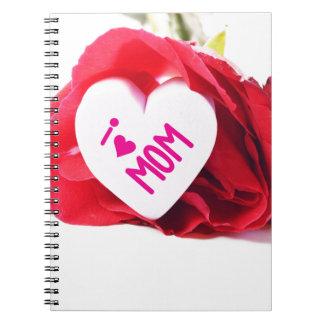 April Spiral Notebook