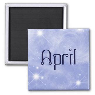 April Starry Magnet