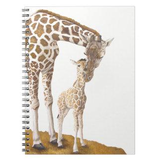 April The Giraffe Notebook