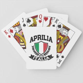 Aprilia Italia Playing Cards