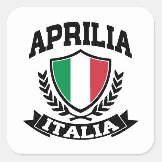 Aprilia Italia Square Sticker