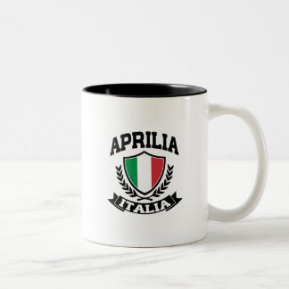 Aprilia Italia Two-Tone Coffee Mug