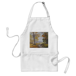 Apron Ann Hayes Painting Forest Stream