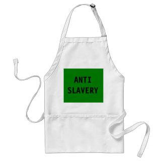 Apron Anti Slavery Green