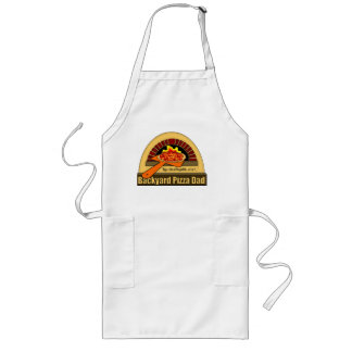 Apron, Backyard Pizza Dad Long Apron