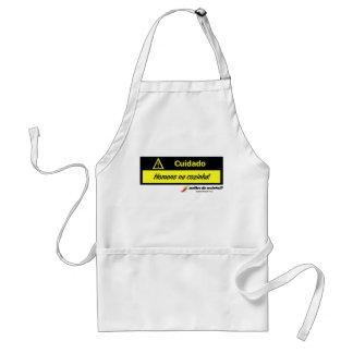 Apron: Cuidado_homens_na_cozinha Standard Apron