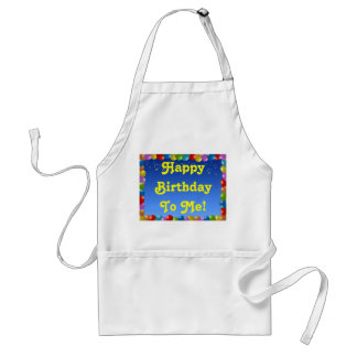 Apron Happy Birthday To Me