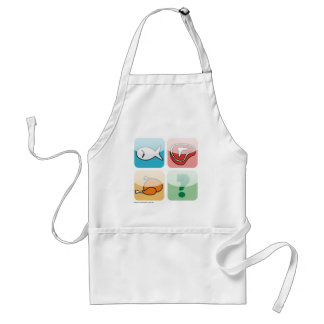 Apron - icons meats