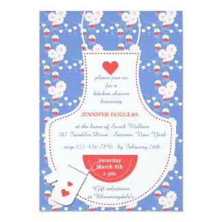 Apron Kitchen Bridal Shower Invitation
