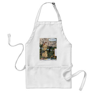 Apron: Month of April - Avril