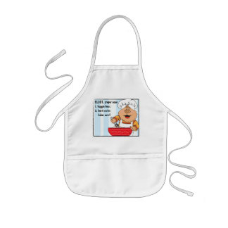 Apron Personalized Boy's Playing/Baking Apron