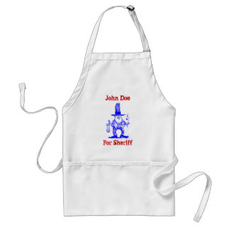Apron To Personalize for Your Sheriff or Political