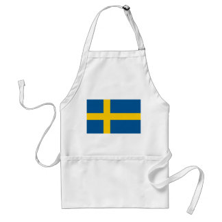 Apron with Flag of Sweden