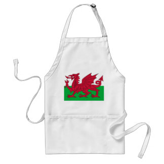 Apron with Flag of Wales