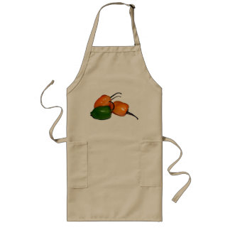 Apron with Habanero Chilies