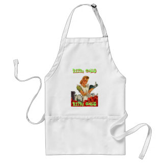 Apron with Retro Chic Tomatoes Home Canning Lady