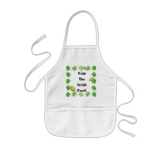 Aprons for St. Patrick's Day - Kiss the Irish Cook