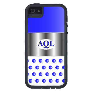 AQL WHITE BLUE  ONE SERIES iPhone 5 COVERS