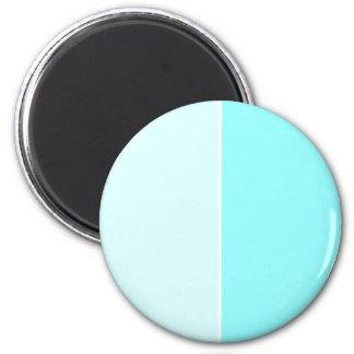 Aqua 2 Inch Round Magnet