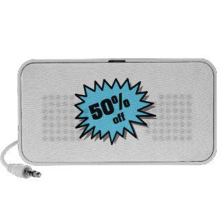 Aqua 50 Percent Off Speakers