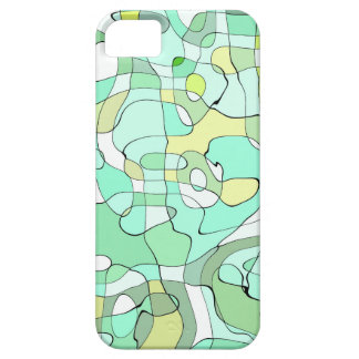 Aqua abstract iPhone 5 covers